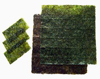 alga comestible nori